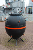 Naval mine Royalty Free Stock Images