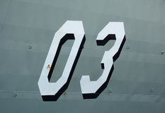 Naval Number Stock Images