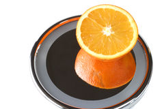 Naval orange reflecting. Naval orange design Royalty Free Stock Image