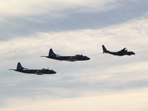 Naval Planes Royalty Free Stock Photography