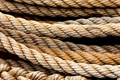 Naval rope Stock Photos