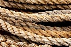 Naval rope Stock Photos