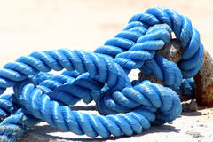 Naval rope Stock Photo