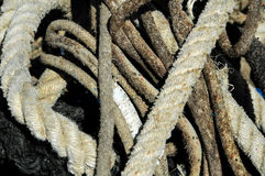 Naval Rope Stock Photography