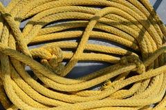 Naval rope royalty free stock photos