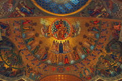 Naval Russian Orthodox Cathedral of Saint Nicholas Stock Photos