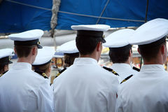 Naval Sailors Royalty Free Stock Photography