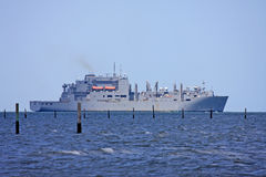 Naval ship Stock Photo
