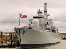Naval Ship Stock Photo