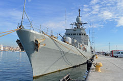 Naval Ship Spanish Navy Destroyer Frigate Royalty Free Stock Photography