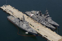 Naval Ships In San Diego Stock Images