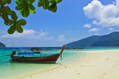 Naval transport in Thai tourism Royalty Free Stock Images