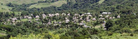Navala -维提岛,斐济 库存照片