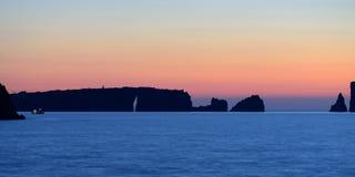 Navarino bay Royalty Free Stock Photos