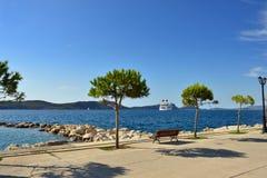 Navarino bay Royalty Free Stock Photo