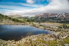 Navarino bergskedja Fotografering för Bildbyråer