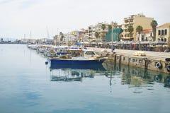 Navarinou路卡拉迈伯罗奔尼撒希腊 免版税库存图片
