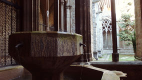 Navarra Cathedral Europe Spain. Pamplona Navarra Spain European Religious Architecture detail stock image