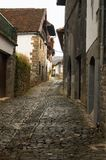 Navarra Isaba. Town Spain House Stock Photos