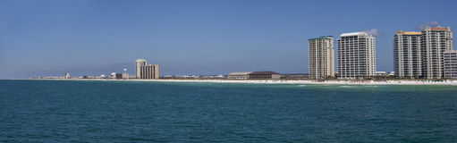 Navarre Beach Florida - Panoramic Stock Photography