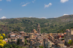 Navarro. An old village in sicily italy Stock Images