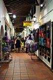 Navata laterale commerciale alla notte 163 Fotografie Stock Libere da Diritti