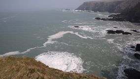 Navax Point near Godrevy Cornwall England UK Royalty Free Stock Photography