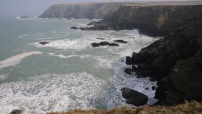 Navax Point near Godrevy Cornwall England UK Royalty Free Stock Photo