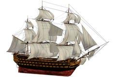 Nave illustrazione vettoriale