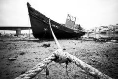 Nave abandonada Foto de archivo