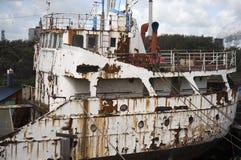 Nave abbandonata Fotografia Stock