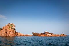 Nave abbandonata 7 Fotografie Stock Libere da Diritti