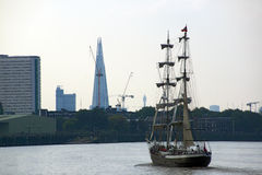 Nave alta della vela Fotografia Stock Libera da Diritti