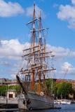 Nave alta di Kaskelot in Bristol Harbour Fotografie Stock