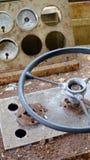 Nave antica del cruscotto Fotografie Stock
