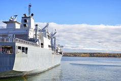 Nave auxiliar naval Imagenes de archivo