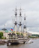 Nave Blagodat a St Petersburg, Russia Immagine Stock