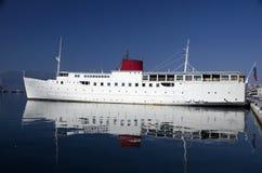 Nave Botel en Rijeka, Croacia Imágenes de archivo libres de regalías