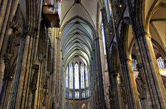 Nave of Cathedral, Cologne Royalty Free Stock Image