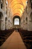 Nave, chiesa del priore, Christchurch Fotografia Stock