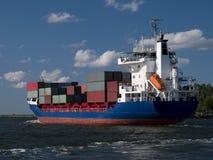 Nave da carico del contenitore Fotografie Stock
