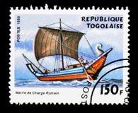 Nave da carico romana, serie delle navi di navigazione, circa 1999 Fotografia Stock