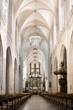 Nave da catedral Fotografia de Stock Royalty Free