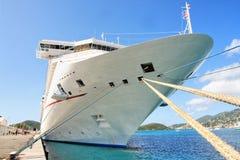 Nave da crociera caraibica Fotografia Stock