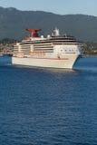 Nave da crociera che lascia il porto #3 di Vancouver Fotografia Stock