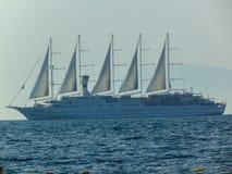 Nave da crociera di Club Med 2 immagini stock libere da diritti