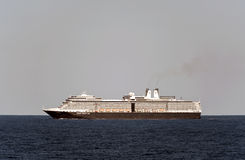 Nave da crociera Eurodam nel Mare del Nord. Fotografie Stock