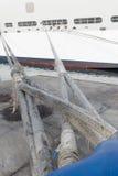 Nave da crociera messa in bacino Fotografie Stock Libere da Diritti
