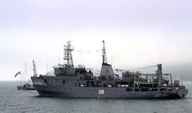 Nave da guerra bulgara Fotografia Stock Libera da Diritti