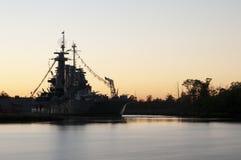 Nave da guerra del North Carolina fotografia stock libera da diritti